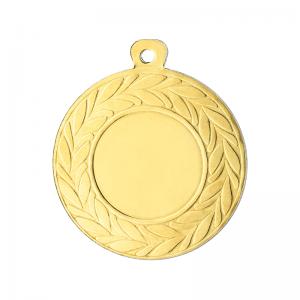Medailles Goudkleurig medaille 45 mm