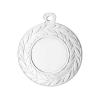 Medailles Zilverkleurig medaille 45 mm