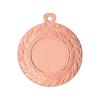 Medailles Bronskleurig medaille 45 mm