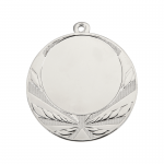 Medailles Zilverkleurig medaille 70 mm