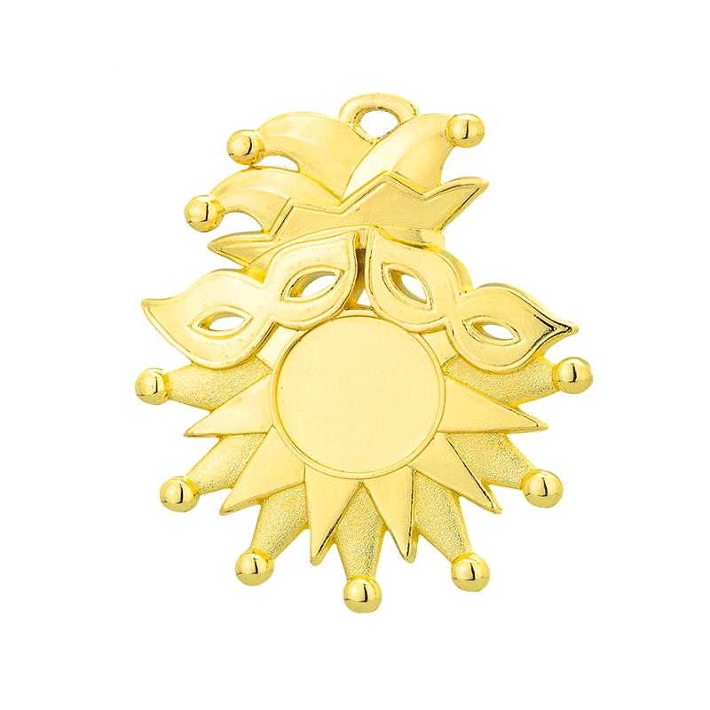 Medailles Carnaval medaille 72x85 mm