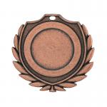 Medailles Bronskleurig medaille 50 mm
