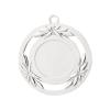 Medailles Zilverkleurig medaille 50 mm