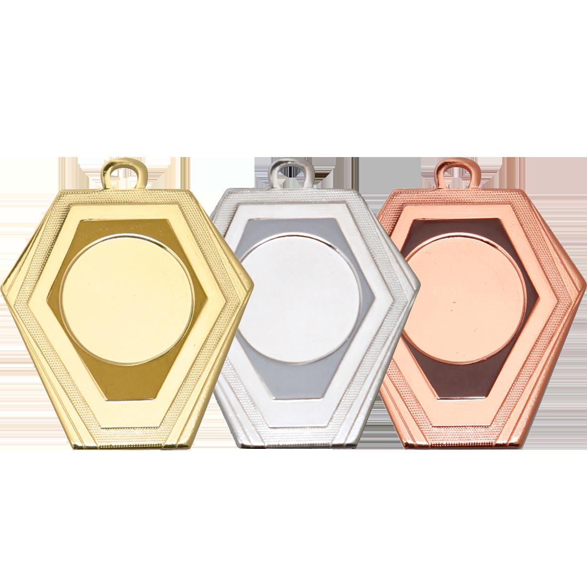 Medailles asymmetrisch